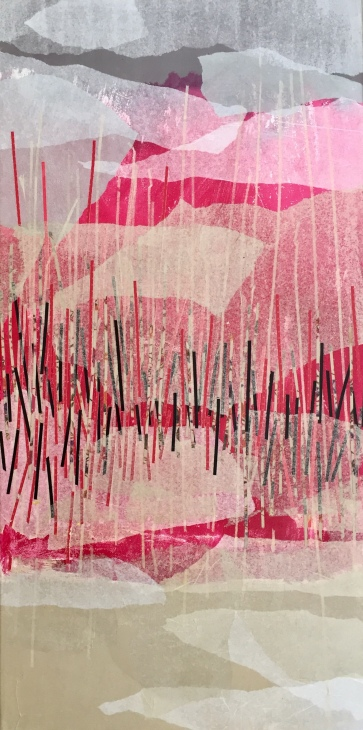 Invisible Collage 50 cm x 120 cm