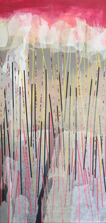 Intuición Collage 50 cm x 120 cm